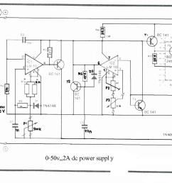 how to build 0 50v 2a bench power supply circuit diagram [ 2174 x 1265 Pixel ]