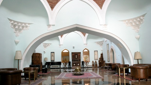 The Bosniak Institute, in a renovated 16th-century Turkish bath, includes a library and art cente, focusing on Bosniak culture