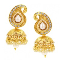 Gold Earrings For Women Online Versace Feather Tribute