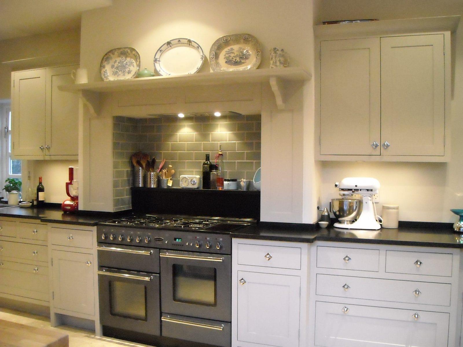 Wimbledon London Painted Shaker Kitchen Higham Furniture