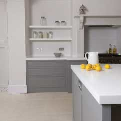 Mid Range Kitchen Cabinets Door Knobs And Pulls Battersea London Handleless Shaker - Higham Furniture