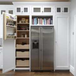 Light Coloured Living Room Ideas White Gloss Cabinets Hampton American Style Kitchen - Higham Furniture
