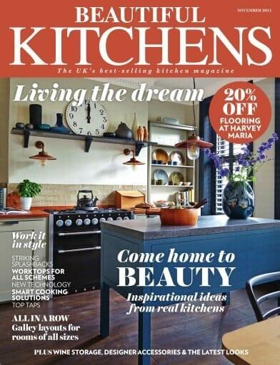 kitchen magazine blender beautiful kitchens november 2014 higham furniture related projects