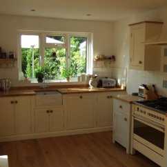 Extra Deep Kitchen Sink Step Ladder Esher Surrey Free Standing - Higham Furniture