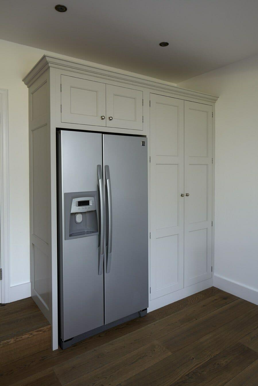 free standing kitchen island organization tips hinchley wood, surrey traditional - higham furniture