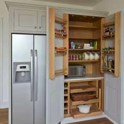 Wood Kitchen Islands Undermount Farmhouse Sink Hinchley Larder - Higham Furniture