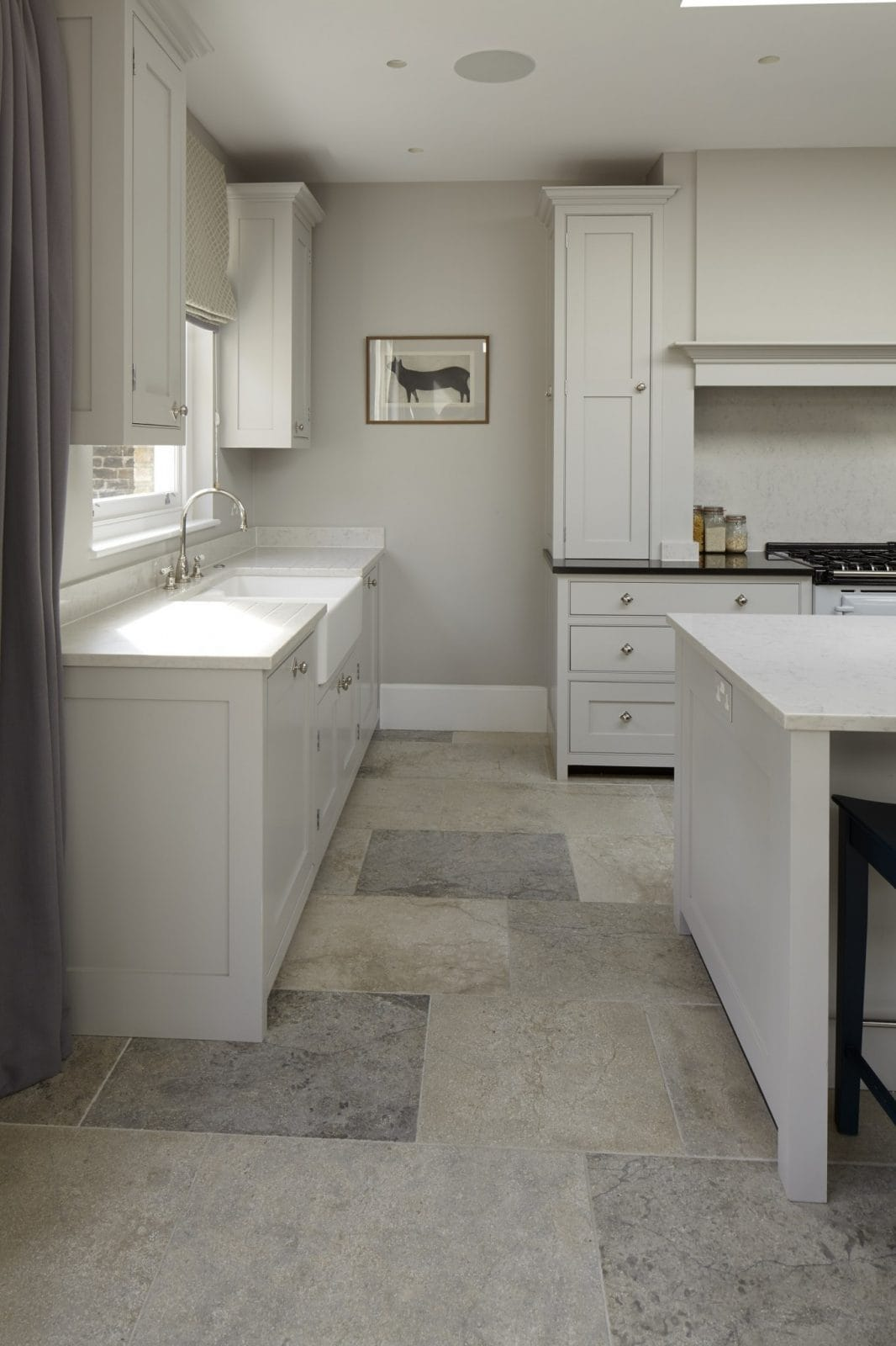 blue pearl granite kitchen ikea remodel wandsworth, london traditional - higham furniture