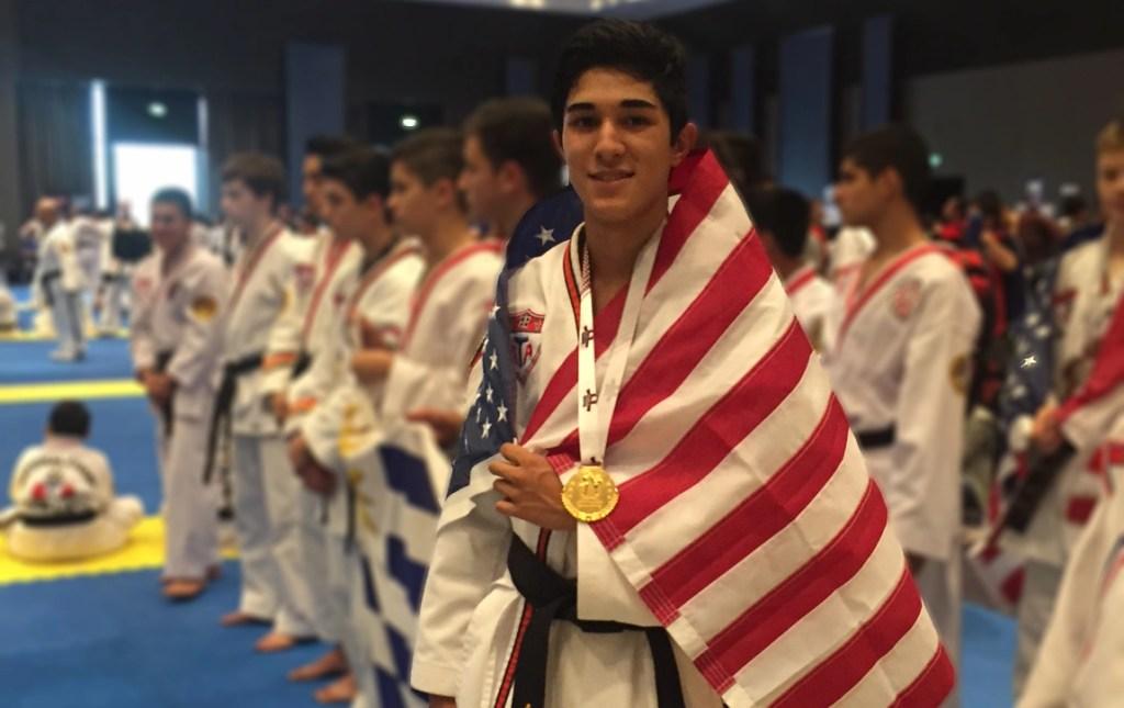 HBA student wins 1st place at the PanAm Taekwondo Championship in Peru