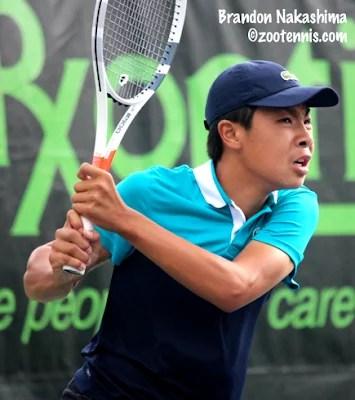 Brandon Nakashima #10 in World Tennis Rankings