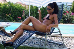 Elizabeth Carson Casting Bikini Black 02-231-3181
