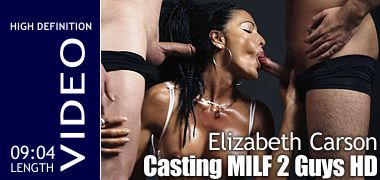 Elizabeth Carson Casting MILF Two Guys HD