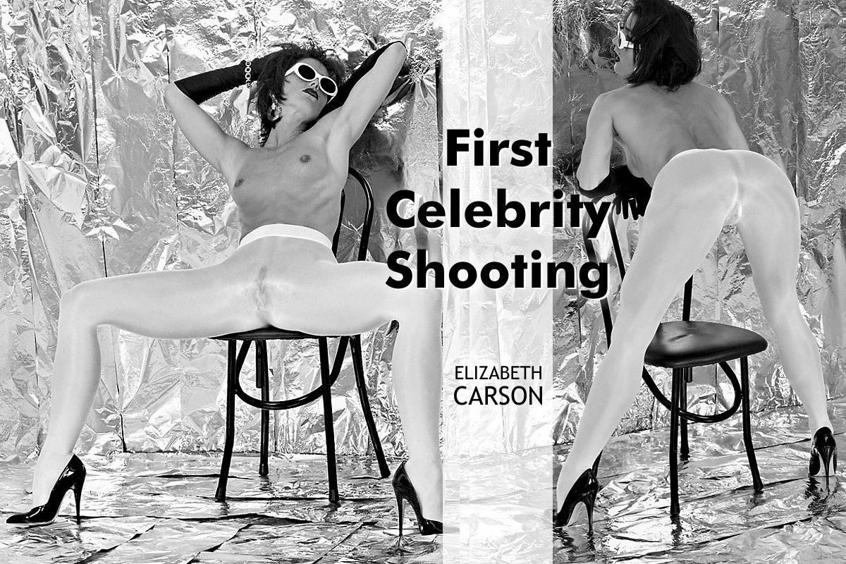 Elizabeth Carson - First Celebrity Shooting