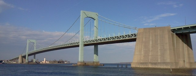 Throgs Neck Bridge @ Queens, New York
