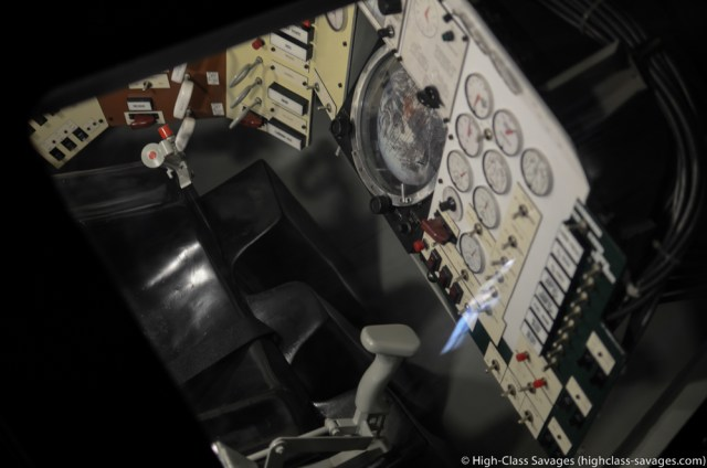 Apollo Capsule Interior @ Patriots Point, Charleston (South Carolina)