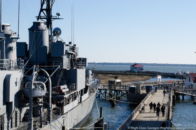 USS Laffey @ Patriots Point, Charleston (South Carolina)