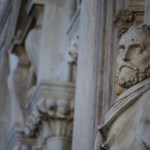 Statue @ Doge's Palace, Venice, Italy