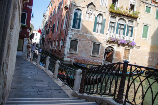 Bridge near Dal Moro's @ Venice, Italy