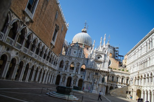 Courtyard @ Doge's Palace, Venice, Italy