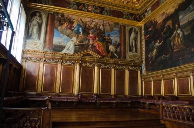 Council Chamber @ Doge's Palace, Venice, Italy