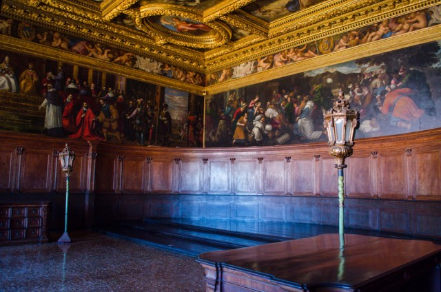 Chamber of the Council of Ten @ Doge's Palace, Venice, Italy