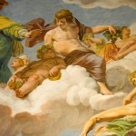 Roman Gods on Ceiling @ Borghese Gallery, Rome, Italy