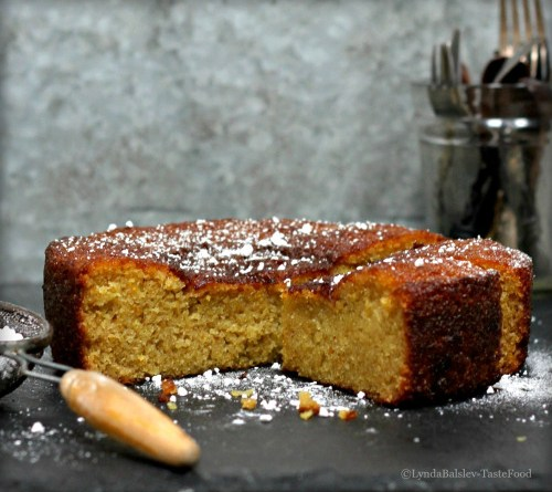 Holiday Baking: Orange Cardamom Olive Oil Cake | High Country Olive Oil