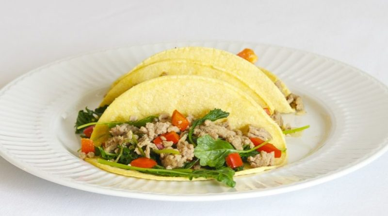 Turkey Kale Tacos   High Country Olive Oil