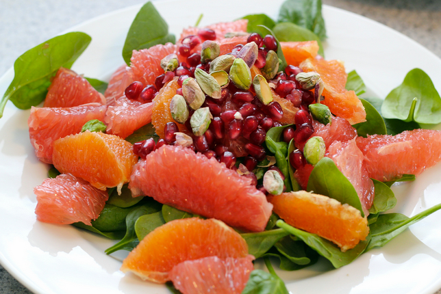 Winter Citrus Salad Recipe   High Country Olive Oil