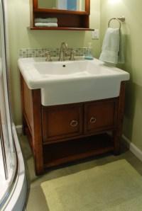 Farm house bathroom sink vanity   Fort Collins Remodeling ...