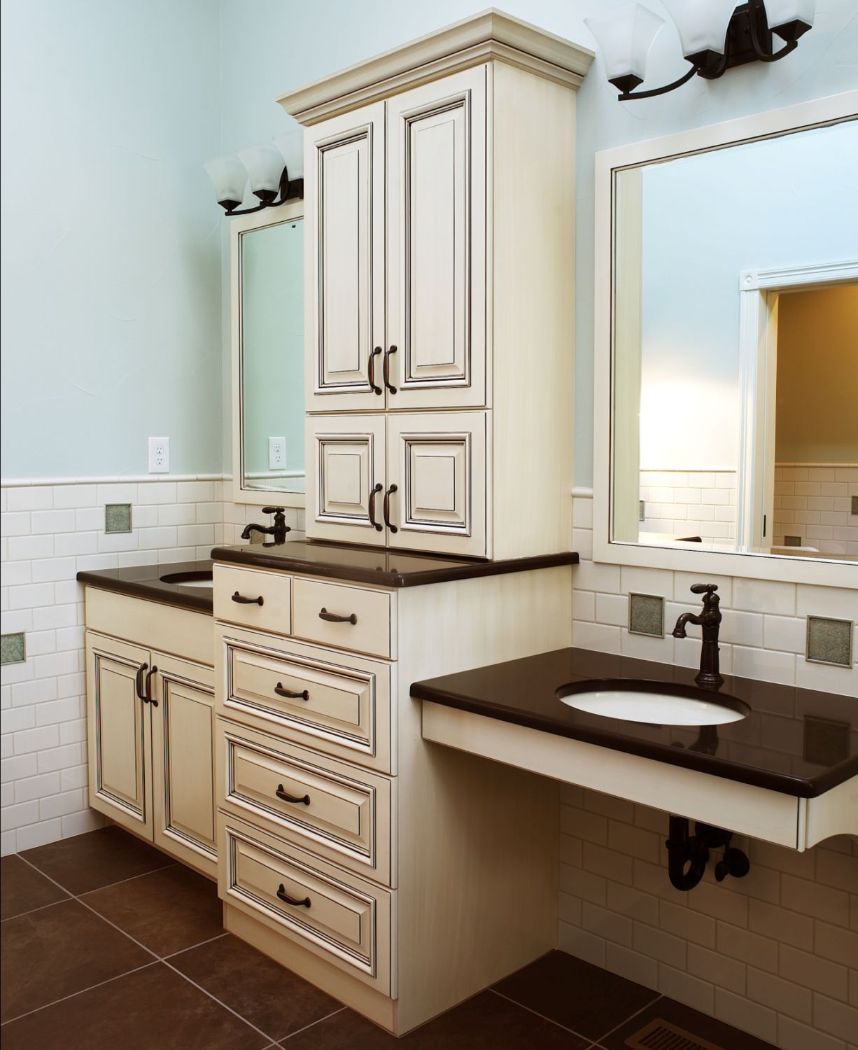 wheelchair accessible long lounge chair cushions 6 tips to remodeling a busy bathroom by highcraft builders