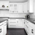 White Farmhouse Cabinets Modern Farmhouse Highcraft Cabinets