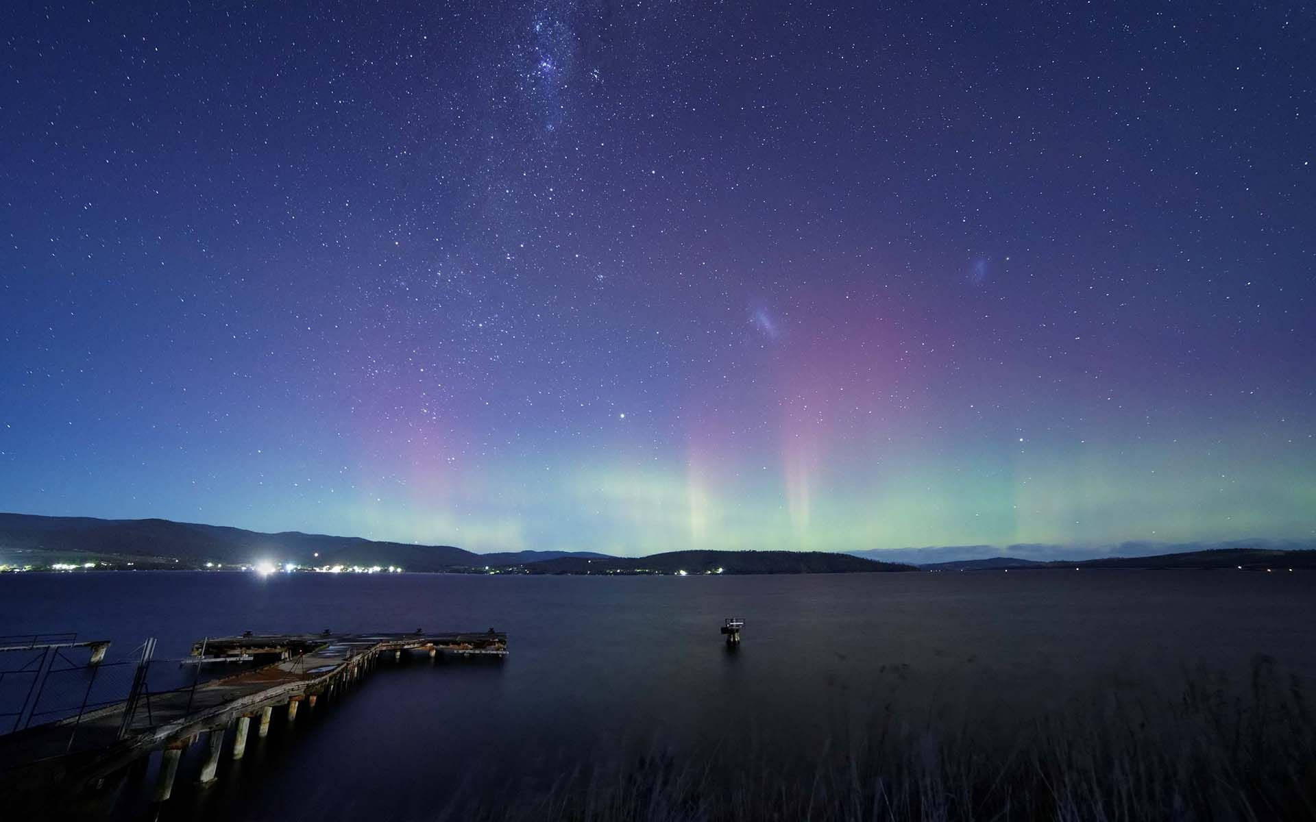 Amazing 3d Wallpapers Download Aurora Borealis Over The Lake High Definition Wallpaper