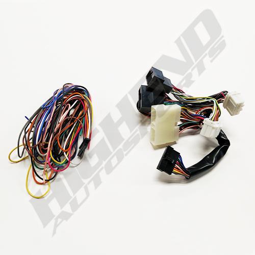 OBD0 to OBD1 ECU Jumper Conversion Harness Adapter for Acura Integra Obd B A Wire Harness on