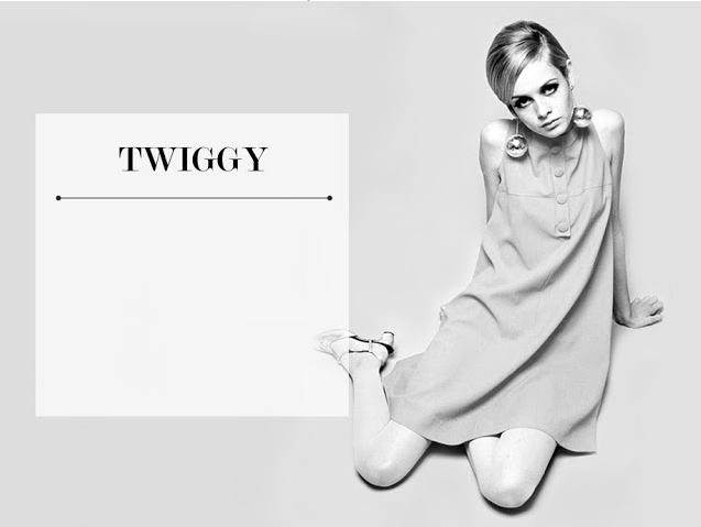 What is Twiggy's Signature Look?
