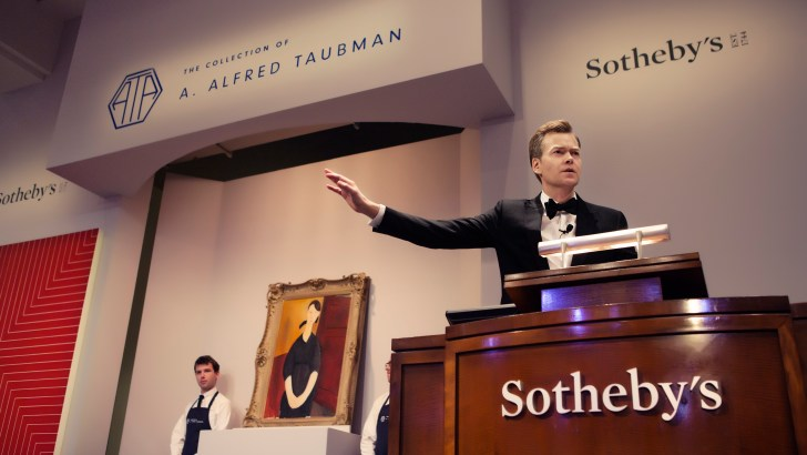 Modigliani's Portrait of Paulette Jourdain leads the Taubman Sale at Sotheby's