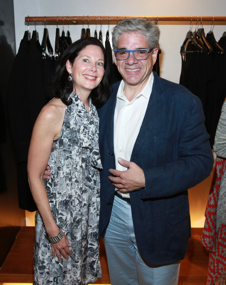 MANHASSET, NY - JUNE 01: Rebecca Hollander and Jim Smiros attend the Urban Zen store opening in Americana Manhasset hosted by Donna Karan on June 1, 2016 in Manhasset, New York. (Photo by Rob Kim/Getty Images for Donna Karan)
