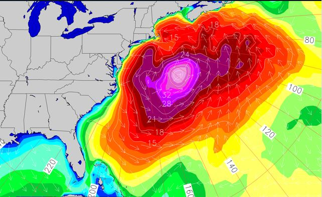 Jan 4th Swell Forecast
