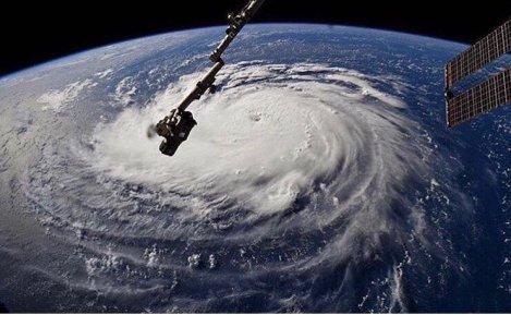 Satellite Hurricane View