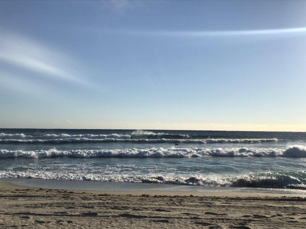 Morning set wave Florida