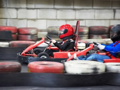 Higher Ground Men's Conference Facebook Live Event Giveaway a K1Speed GoKart Adventure