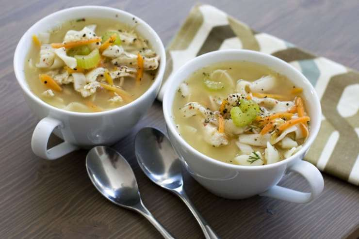 How to Make Infused Chicken Noodle Soup