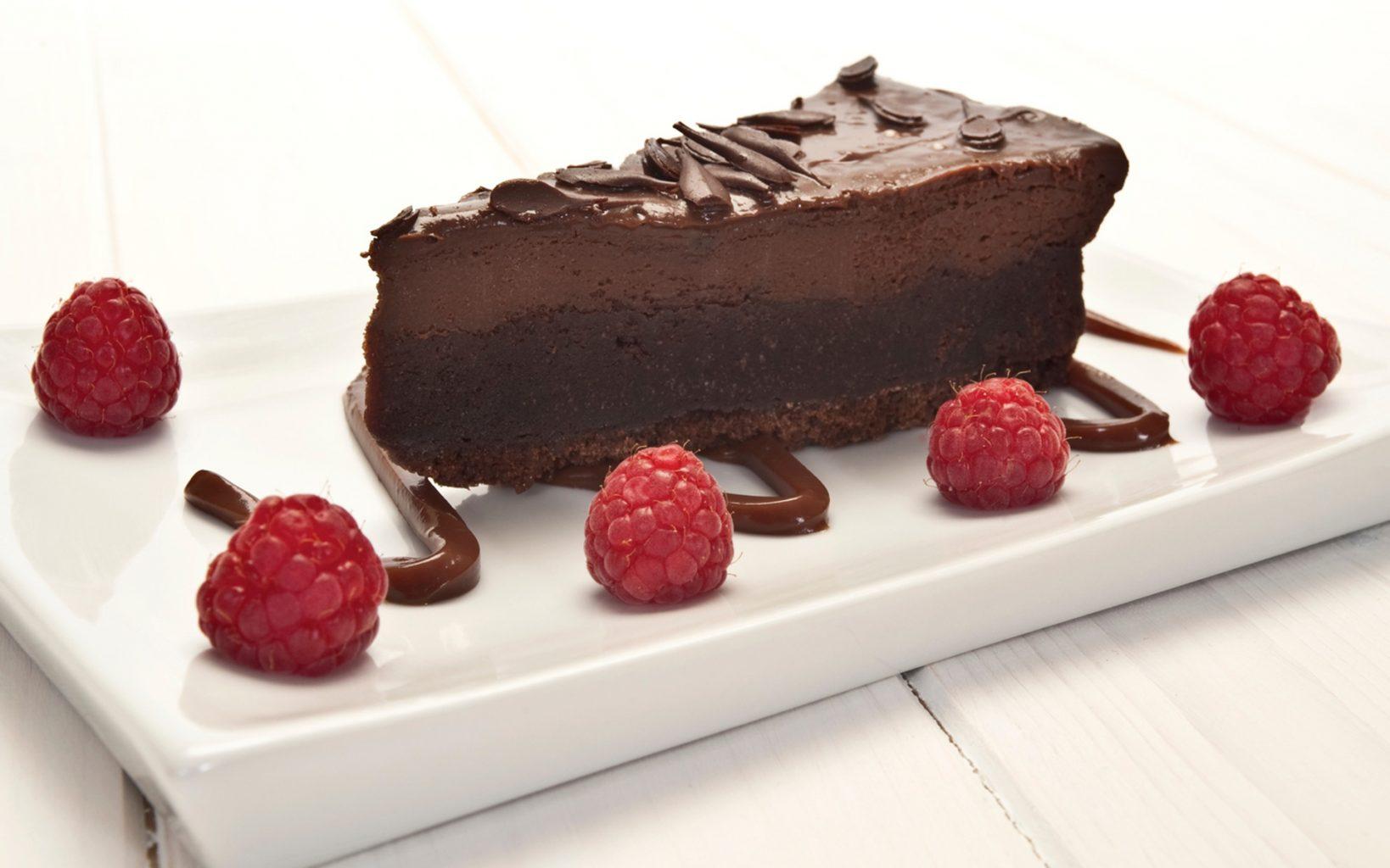 Infused Raspberry Chocolate Cheesecake