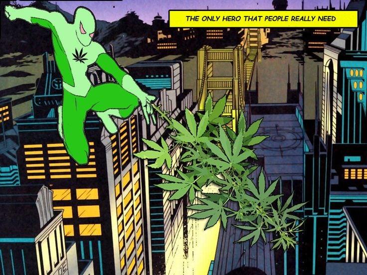 4 Superhero Cannabis Strains for the Superhero in You