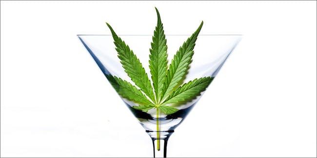 cannabis infused marijuana margaritas