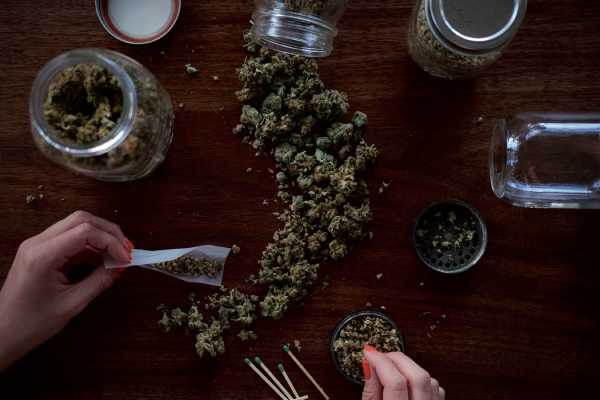 Blut weed THC
