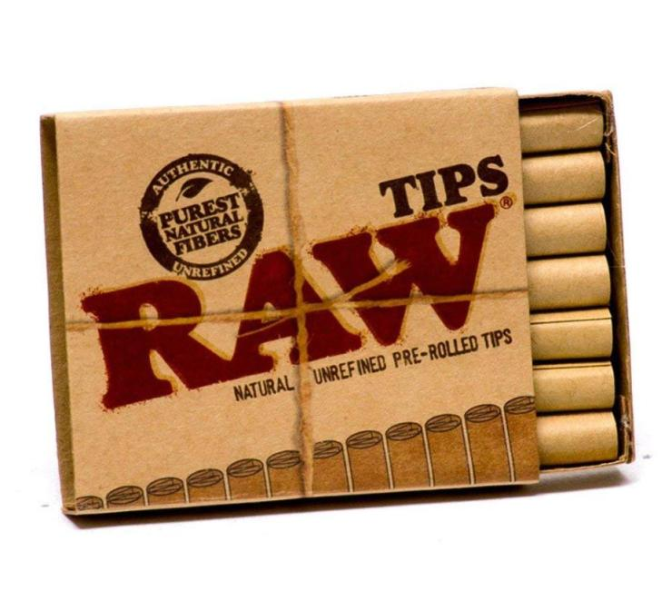 Pre Rolled Tips by Raw