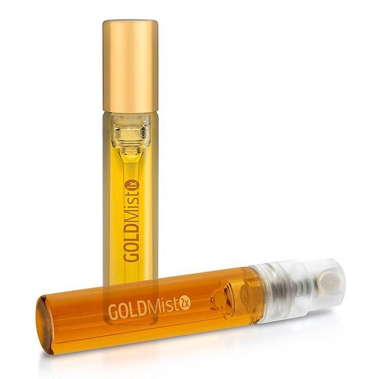 Gold minst THC spray bottle