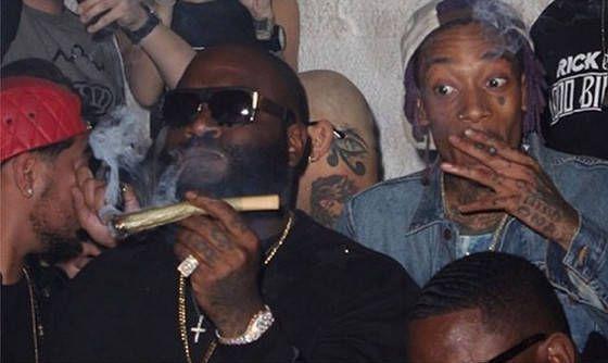 rappers smoke weed