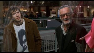 Jason Lee and Stan Lee - Mallrats