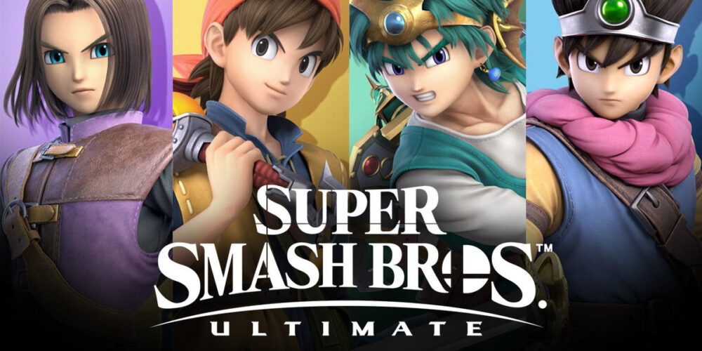 UPDATE! Nintendo Smash Bros. Ultimate: Dragon Quest's Hero Out Now!